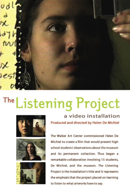 LISTENING PROJECT DVD
